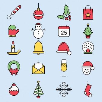 Nette weihnachtsikonen