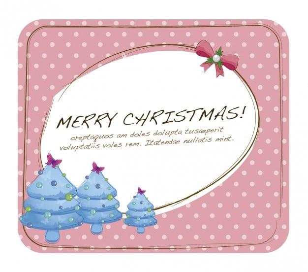 Nette weihnachtskarte