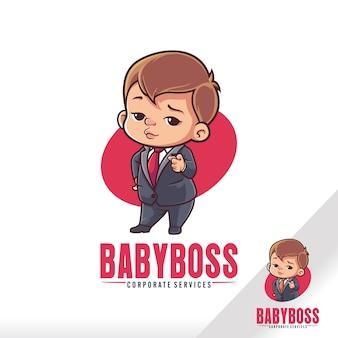 Netter baby-boss-kinder-cartoon