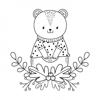 Netter bärenwaldcharakter