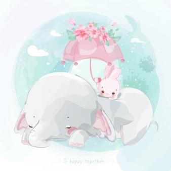 Netter elefant