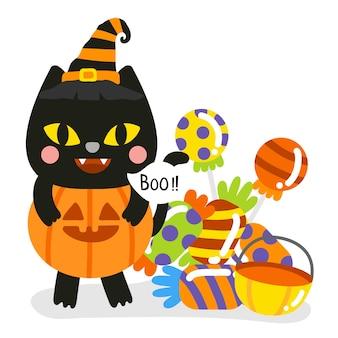 Netter halloween-vektor.