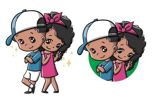 Netter kindertag-cartoon