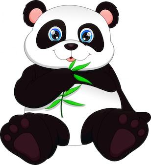 Netter lustiger babypanda
