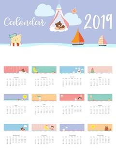 Netter monatskalender