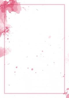 Netter spritzer abstrakter hintergrund aquarell