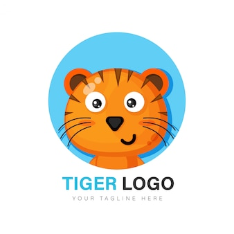 Netter tiger logo design