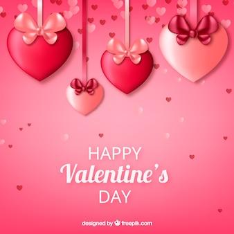 Netter valentinsgrußhintergrund