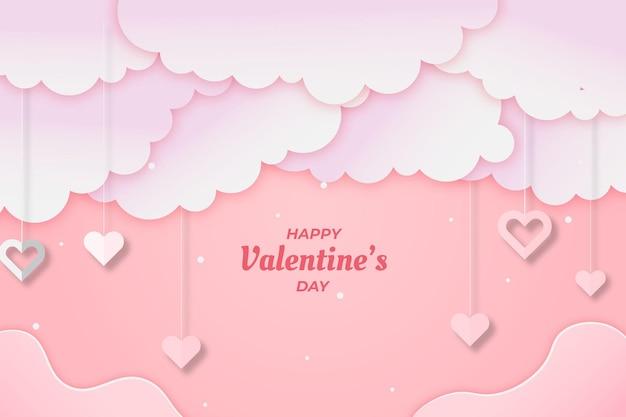 Netter valentinstag hintergrund pink