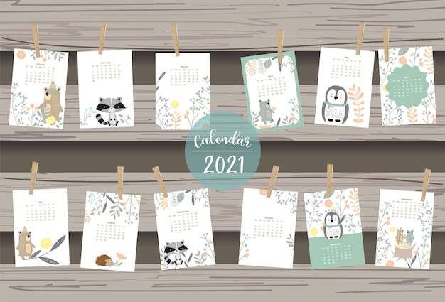 Netter waldkalender