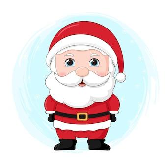 Netter weihnachtscharakter. weihnachtsmann
