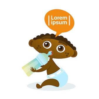 Nettes Afroamerikaner-Baby