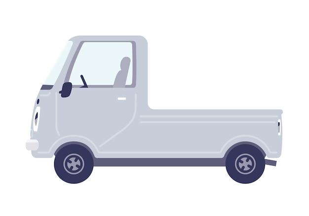 Nettes auto.minitruck.seitwärts