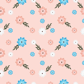 Nettes pastellblumenmuster