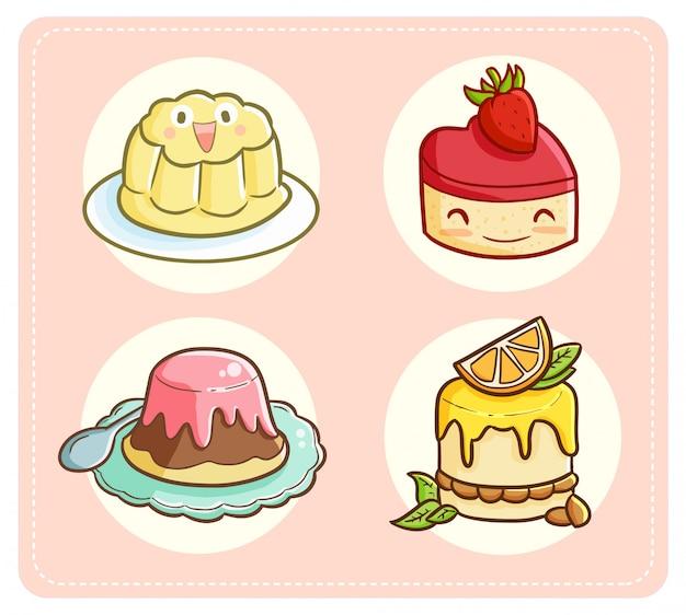 Nettes pudding-thema