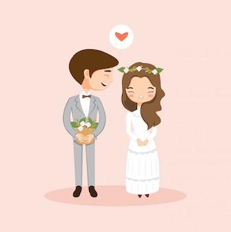 Nettes romantisches paar in der liebe