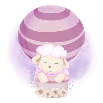 Nettes tierbaby für kinder