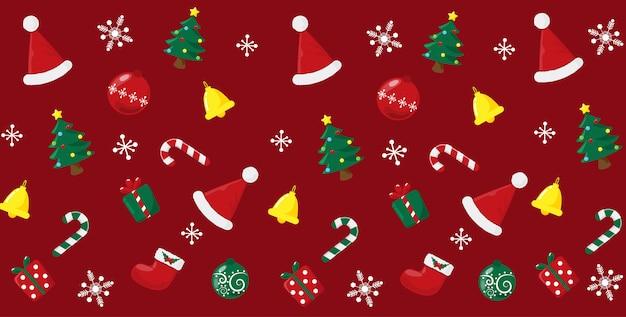 Nettes weihnachtsmuster