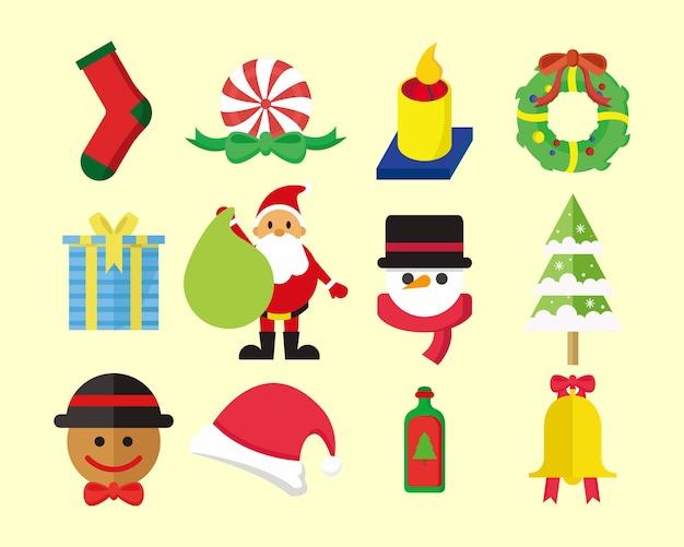 Nettes weihnachtspaket