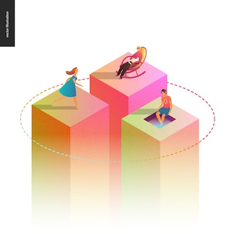 Netzwerk-konzept-vektor-illustration