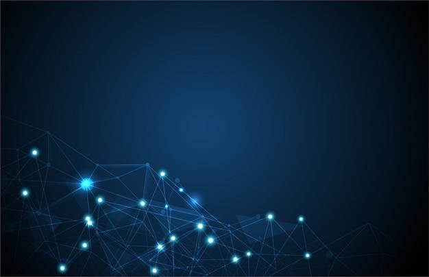 Netzwerkleitung hintergrund