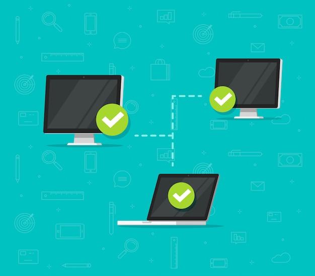 Netzwerkverbindung zwischen computern