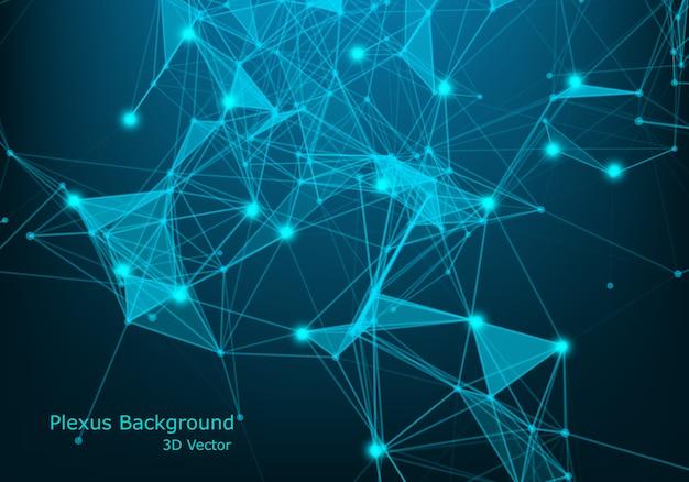 Netzwerkverbindungspunkte und linien