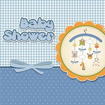 Neue babymitteilungskarte