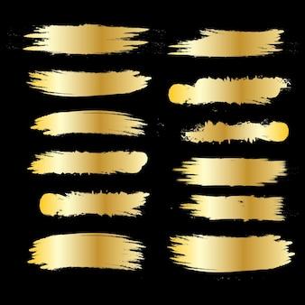 Neue kollektion grunge-gold