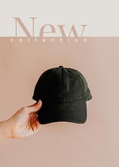 Neue kollektion shopping vorlage vektor ästhetische mode werbeplakat