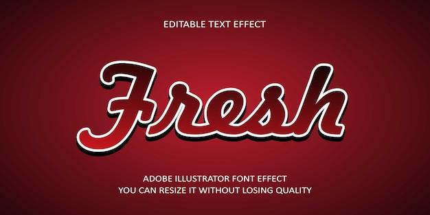 Neue text-effekt-schriftart