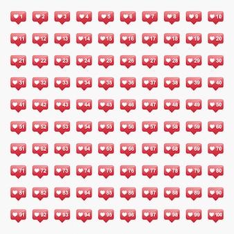 Neues benachrichtigungssymbol auf instagram