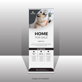 Neues business-rollup-standee-banner-design