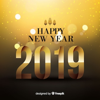 Neues jahr 2019 hintergrund
