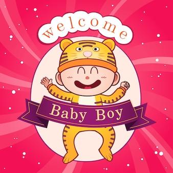 Neugeborene babyfeier