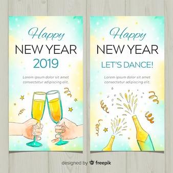 Neujahr 2019 banner
