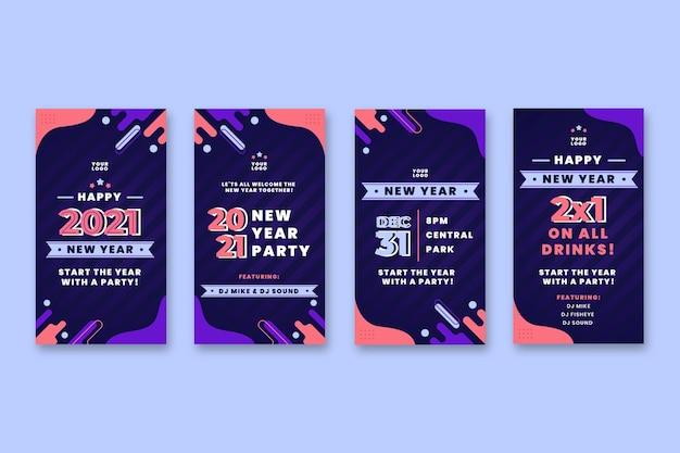 Neujahr 2021 instagram geschichten sammlung