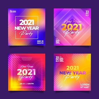 Neujahr 2021 party instagram beiträge