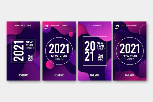 Neujahr 2021 party instagram geschichten