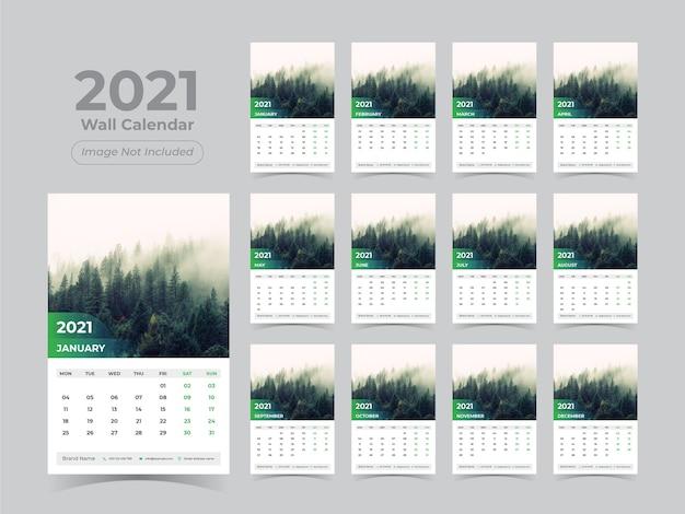 Neujahrs wandkalender
