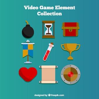 Neun objekte für videospiele