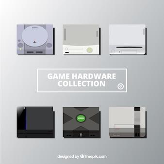 Neun verschiedene konsolen