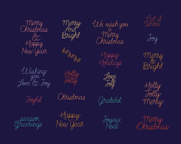 Neunzehn weihnachtssätze