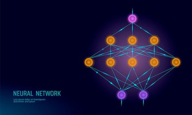 Neuronales netz, neuronales netz, deep learning