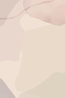 Neutraler weicher abstrakter aquarellhintergrund