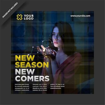 New season fashion sale neue kollektion instagram post