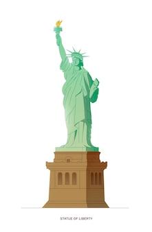 New york die freiheitsstatue