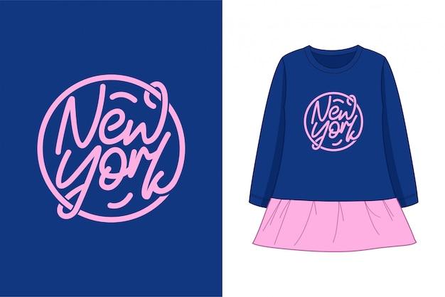 New york - grafisches t-shirt