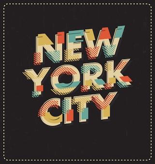 New york hintergrund-design