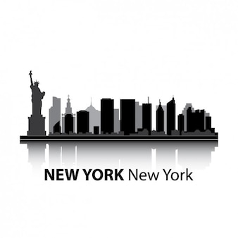 New york skyline design